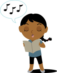 Child clipart singing song 4937_SMU clipart passion 1102 music