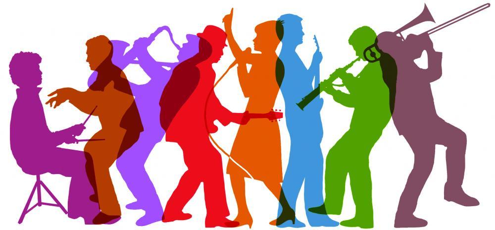 Singer clipart big band  Ska Singers to &