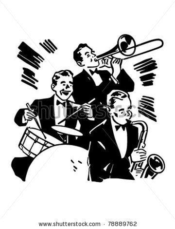 Singer clipart big band About images Big Clipart ideas