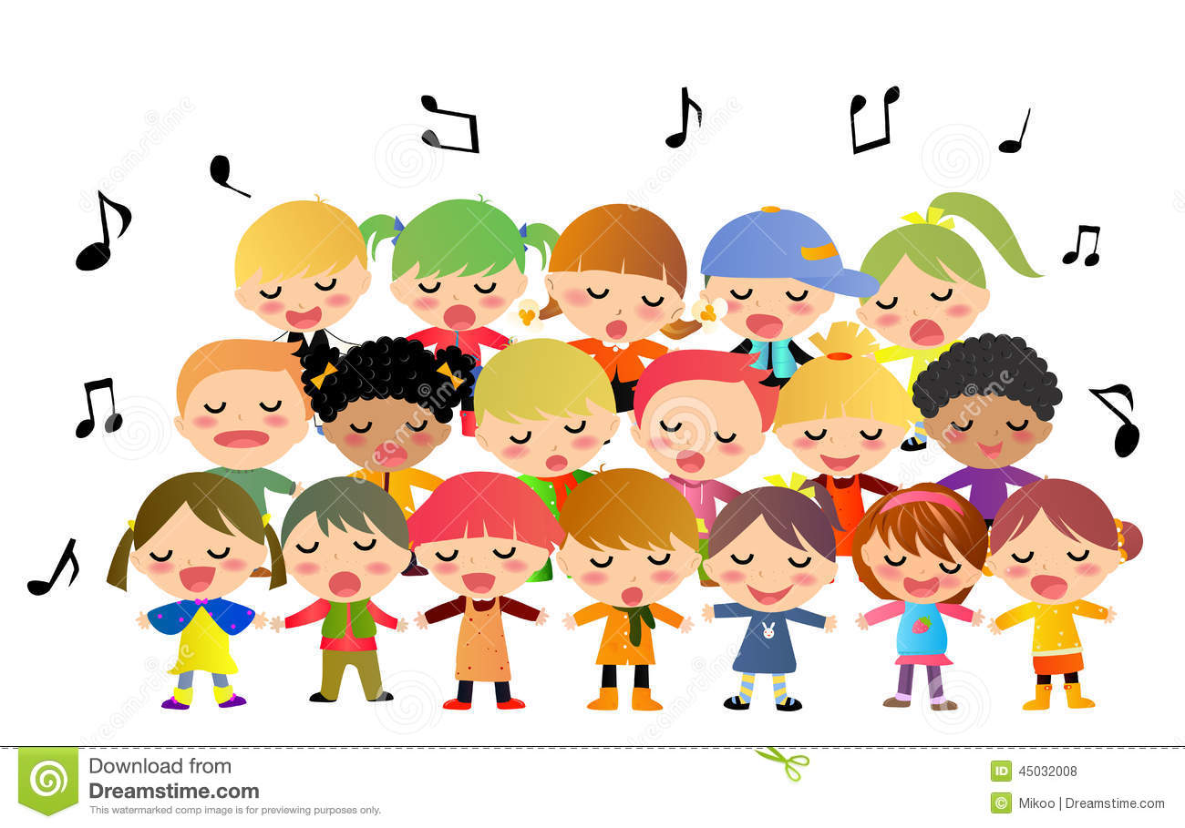 Club clipart children's choir Clipart Clip Clipart Children