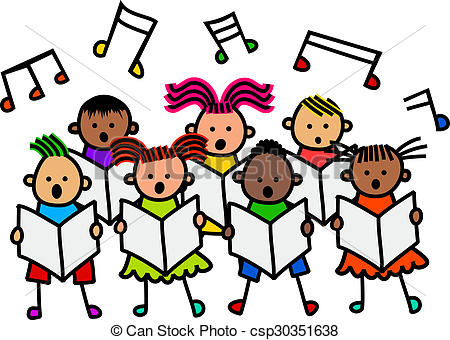 Club clipart child choir Of and csp30351638 A Drawings