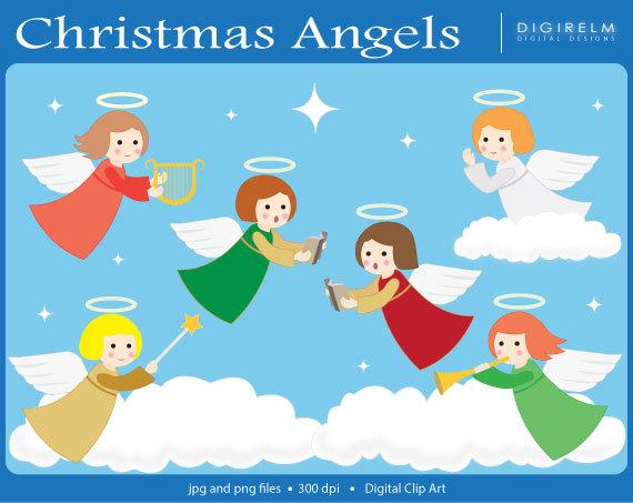 Singer clipart christmas program Christmas Art clipart angels Singers