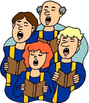 Singer clipart hobby Church choir Gospel Clipart art