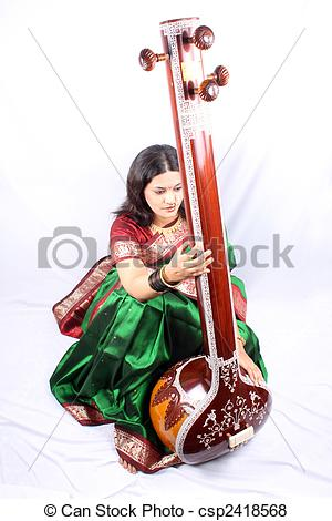 Singer clipart classical music Music Singer Indian  Classical