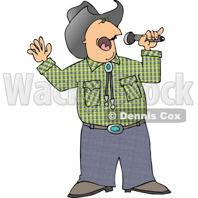 Country clipart country singer Collection clipart singing Music music