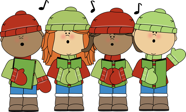 Singer clipart cute Clipart Singing Signing Winter cliparts