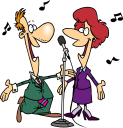 Singer clipart entertainment Clipart art Currently Royalty Free