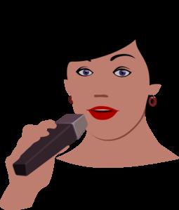 Singer clipart female singer Clipart images singer  Bing