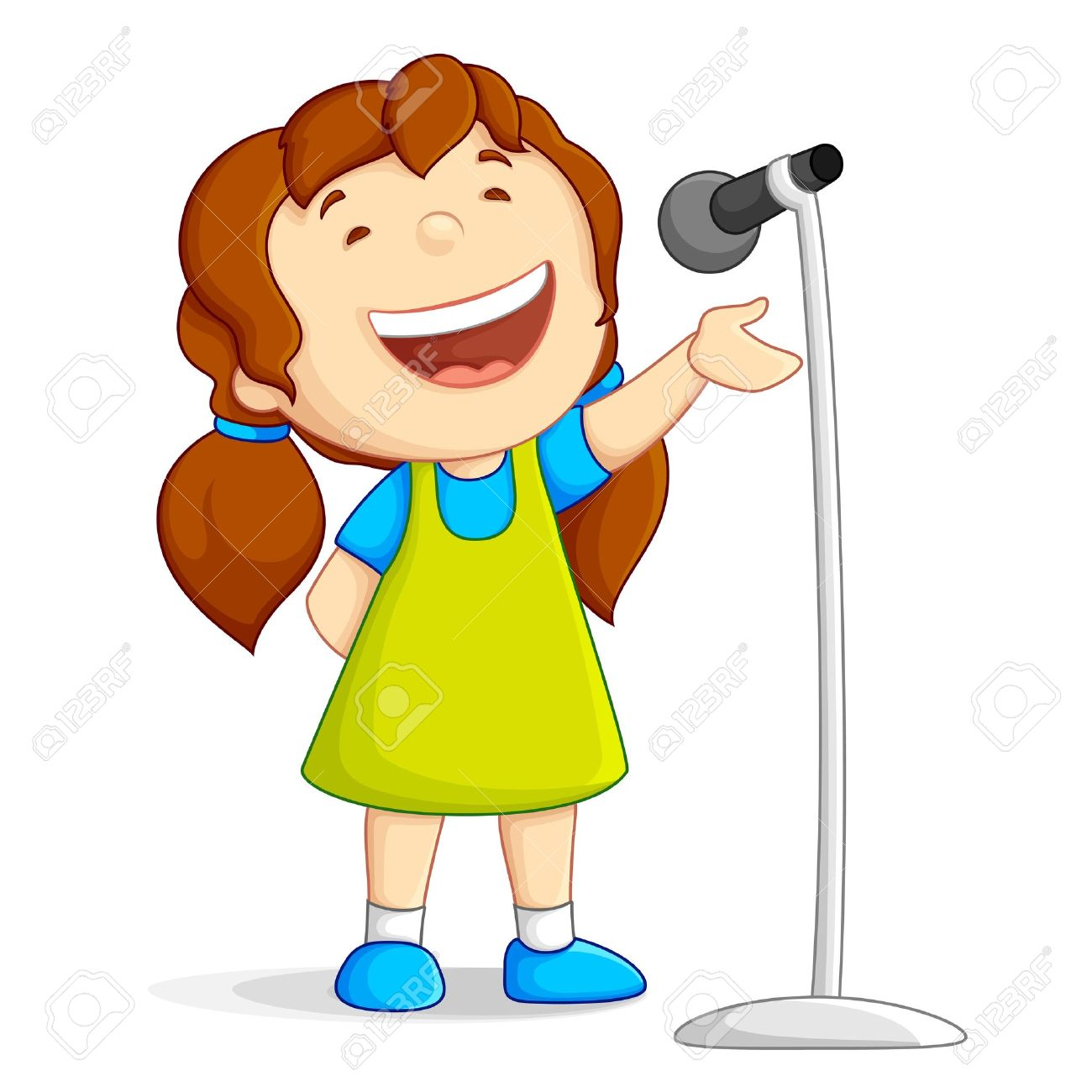Singer clipart female singer Microphone  Clipart Collection jazz