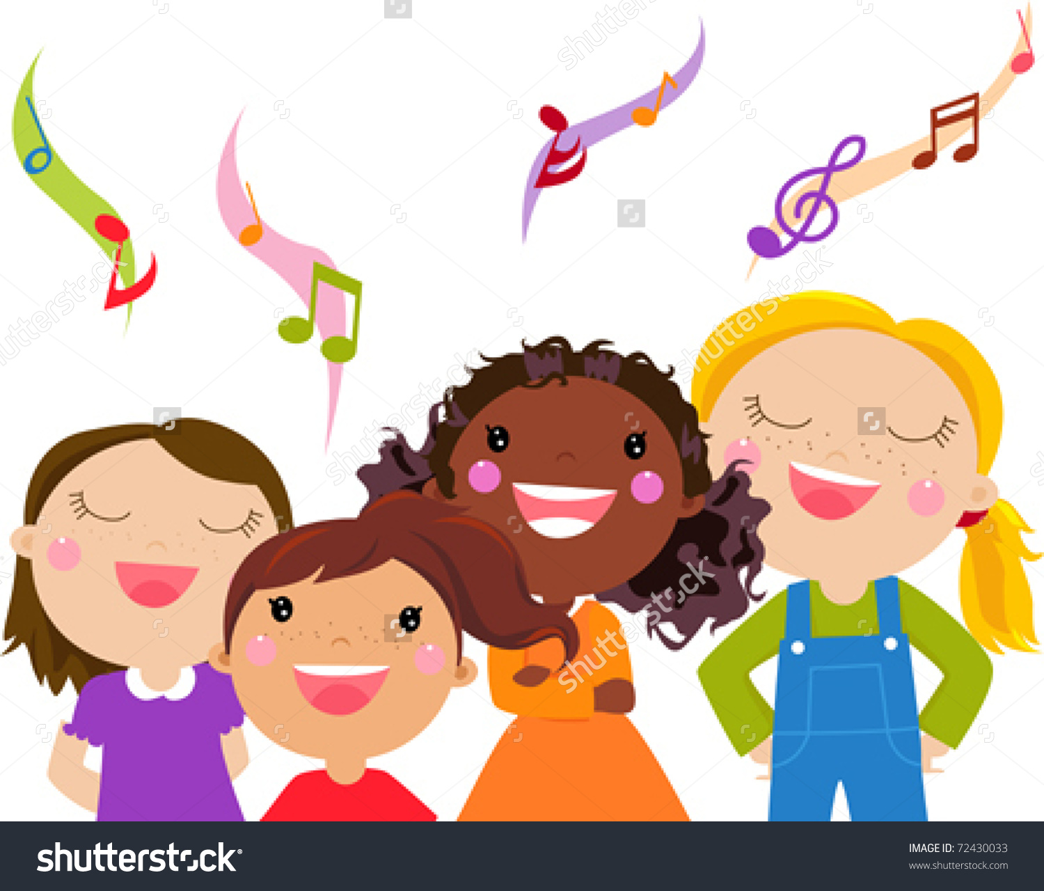 Singer clipart group singing Collection about clipart Clipart Singing