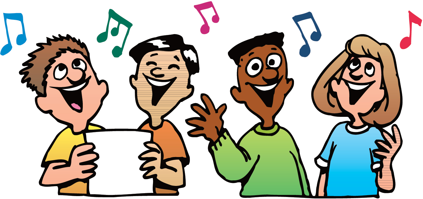 Singer clipart group singing Group Clipart  Singing