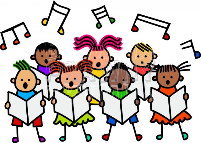 Singer clipart group singing Collection clipart singing Hymn clipart