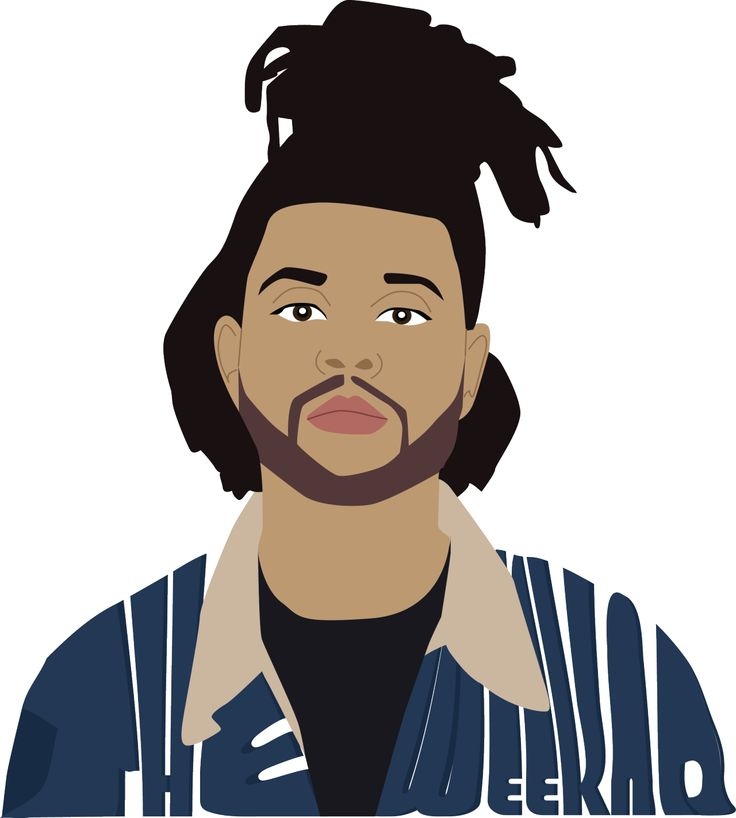 Singer clipart hobby The  The about Weeknd