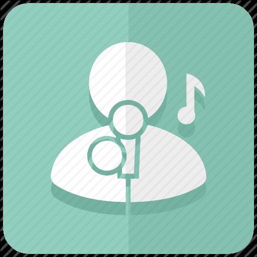 Singer clipart hobby Icon hobby karaoke vocal Hobby