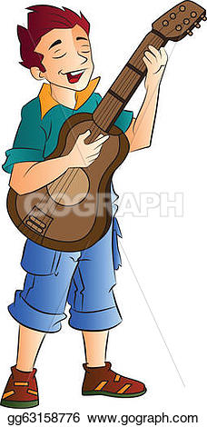 Singer clipart illustration  Young illustration and Stock