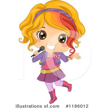 Singer clipart illustration (RF) BNP Design Illustration Singer