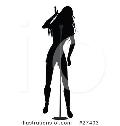 Singer clipart illustration (RF) by elaineitalia Singer Clipart