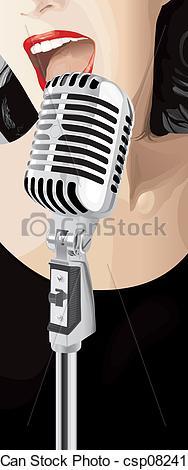 Singer clipart jazz singer Of Jazz (vector) Singer Singer