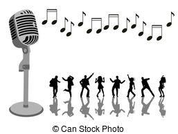 Singer clipart cute cartoon Stock  Illustration Singing 36