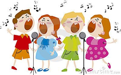 Singer clipart kid choir Choir Panda Art Clipart Clipart