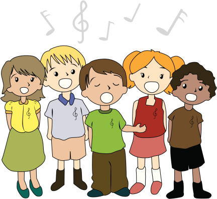 Singer clipart kid public speaking Singing clipart collection Cliparts children