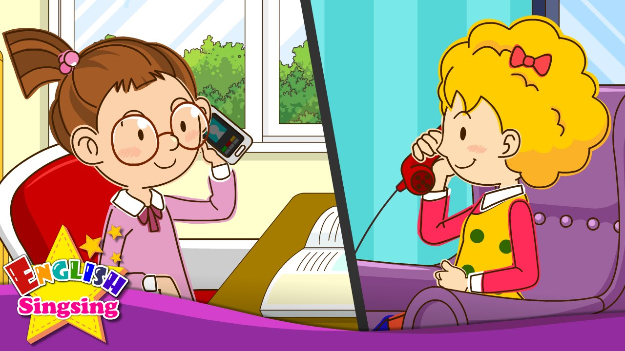 Phone clipart telephone conversation To Sally? kids Telephone Conversations]