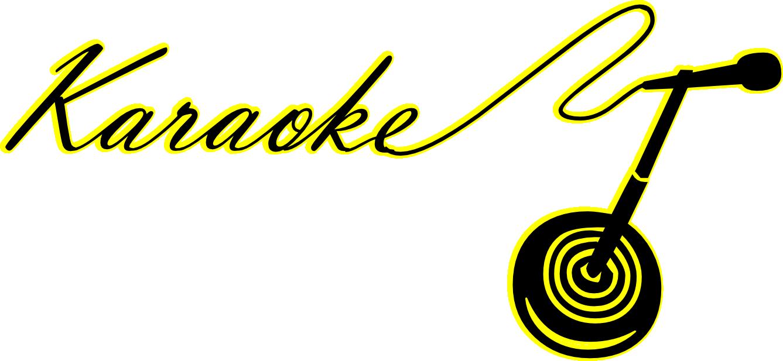 Singer clipart logo Sing karaoke Royalty free vector