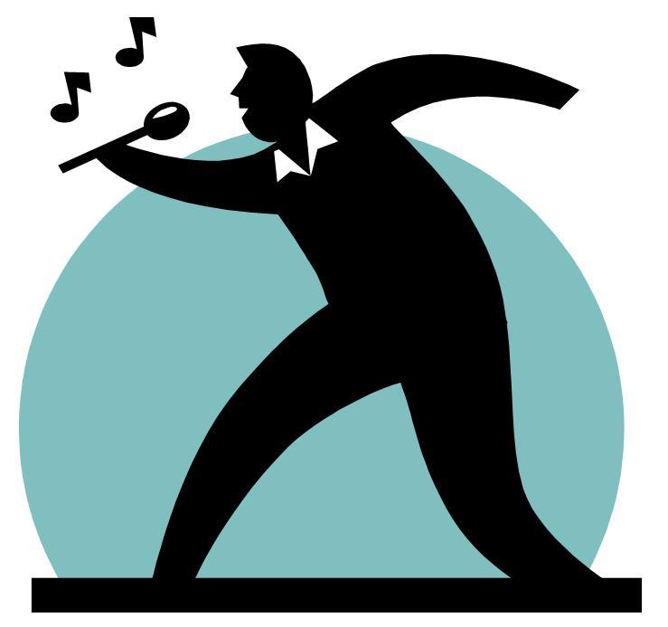 Singer clipart logo Logo Show Others Art Inspiration