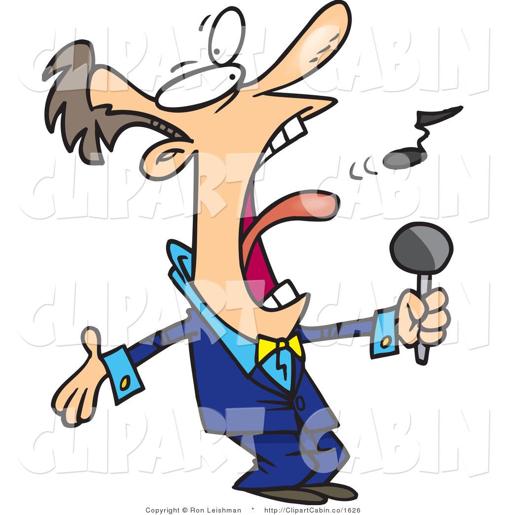 Singer clipart loud voice Clipart #136 Sing Clipart Sing