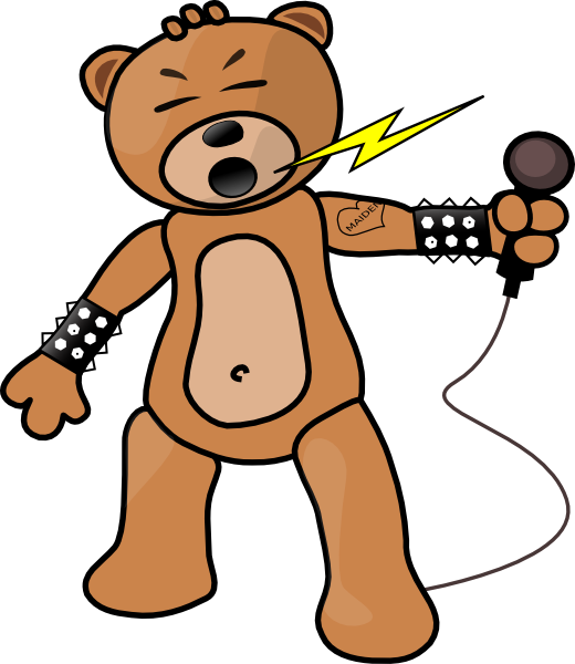 Teddy clipart baer Clipart in spiked loudly Free