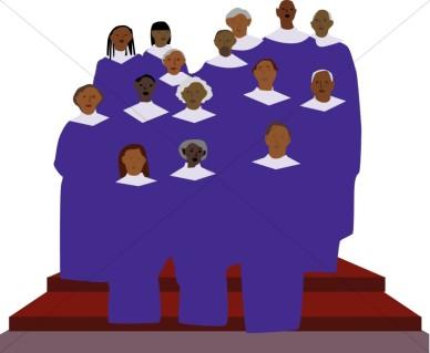 Singer clipart cute cartoon Choir cliparts Clipart Singers Day