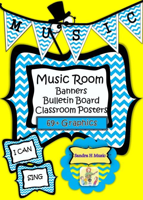 Singer clipart music classroom Images  and SandraHCreations Banner