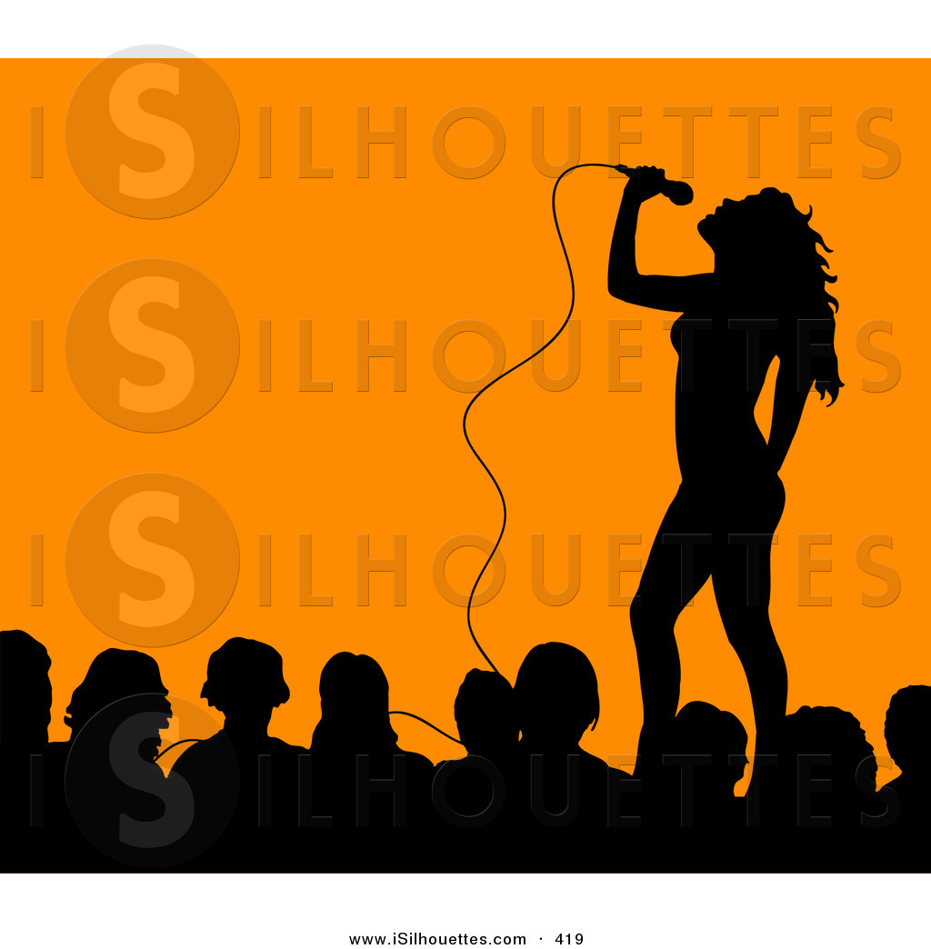 Celebrity clipart Download Singer Clipart On Stage