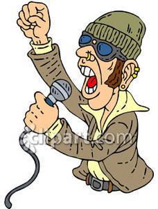 Singer clipart rock singer Clipart Singer Picture Rock Free