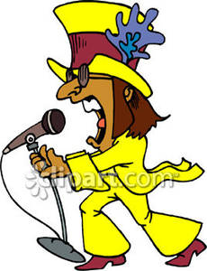Singer clipart rock singer The Royalty Picture Picture Free