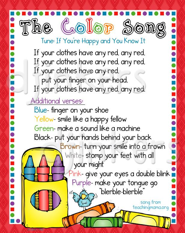 Crayon clipart preschool learning Learning art cute color colors