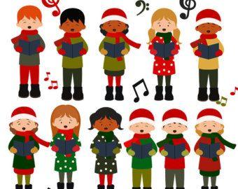 Winter clipart choir ClipArt Scrapbook: 43 Find images