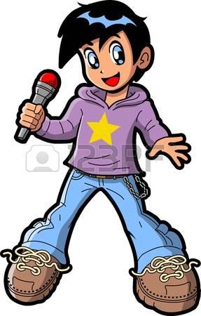 Singer clipart singing Art Royalty clipart Stock Singer