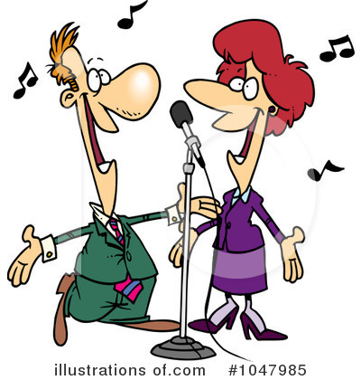 Singer clipart singing Singing Free toonaday by Clipart