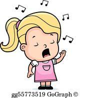 Singer clipart singing Singer; Cartoon  Singing gg75416792