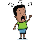Singer clipart singing Clip Singer clipart collection &