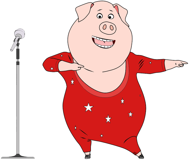 Singer clipart singing competition Sing Images Movie Cartoon Clip
