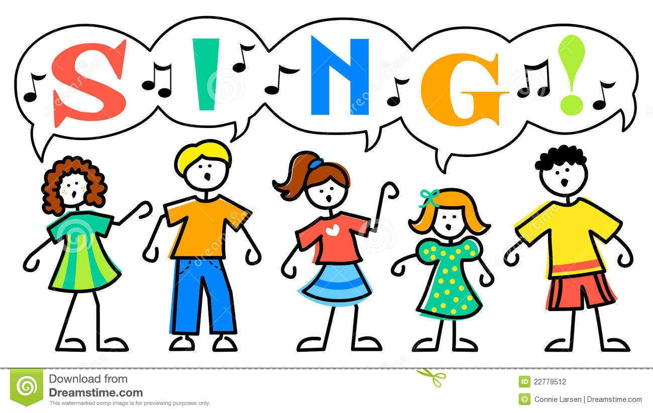 Singer clipart singing contest Singers Free Collection Children Clipart