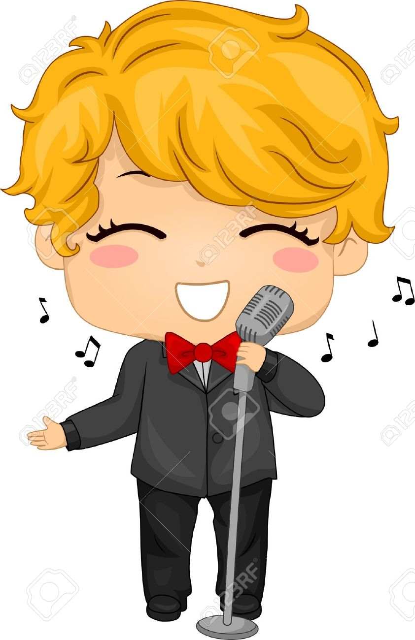 Singer clipart singing contest Sing Clipart Clipart Tiny Sing