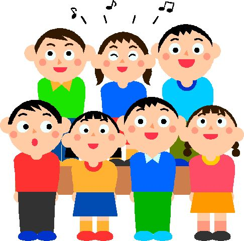 Singer clipart singing contest Clip Students Women Gclipart singing