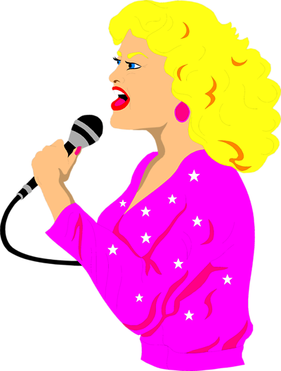 Singer clipart transparent Image on Download Clipart Free