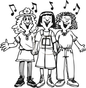Singer clipart trio Clipart Entertainment Clipart Clip art
