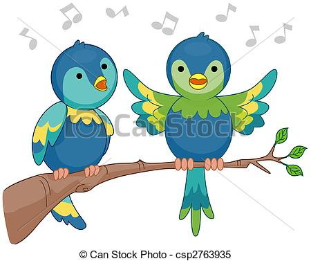 Singer clipart two Clipping and Photos Singing and