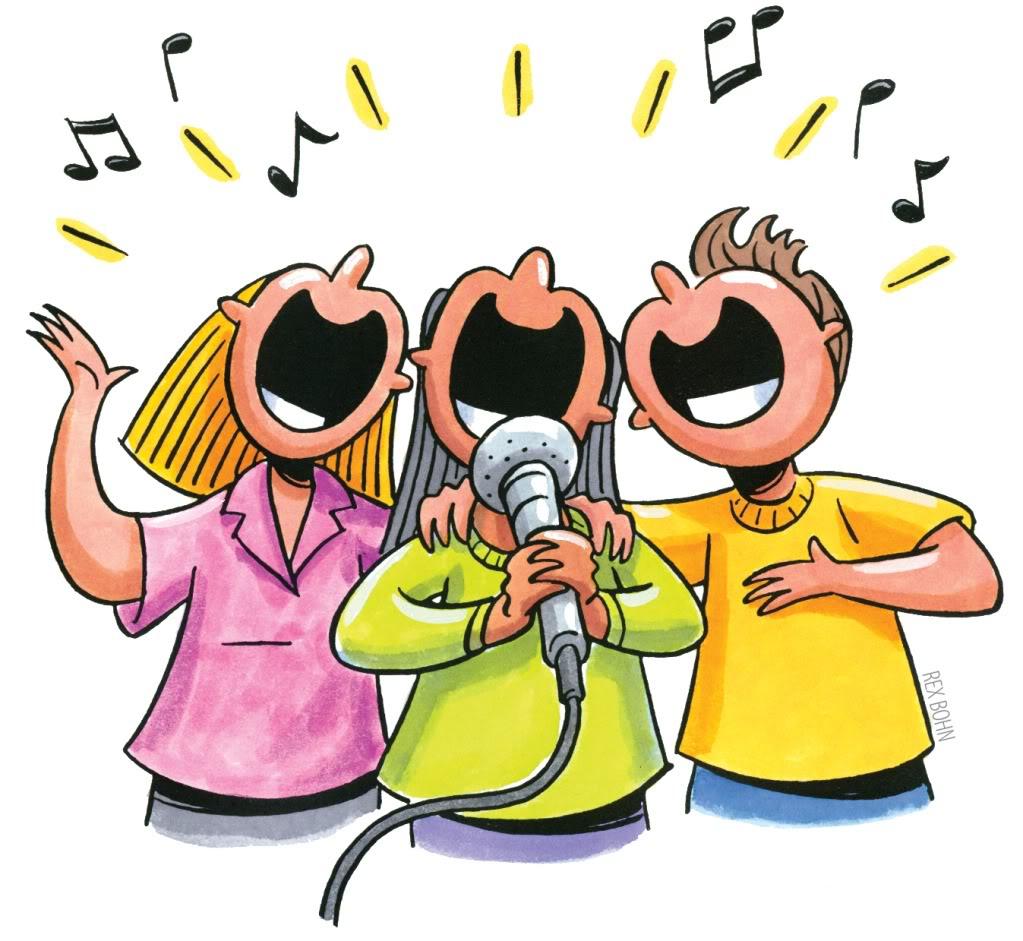 Singer clipart videoke Singer Karaoke Cliparts clipart Singers