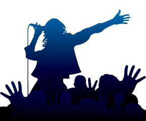 Singer clipart videoke Singer Karaoke Cliparts clipart Singer